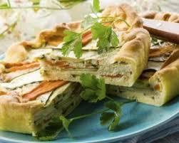 recette cuisine dietetique recette de quiche diététique aux carottes nouvelles courgette et