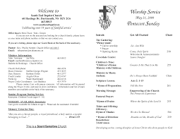 wedding bulletins exles best photos of sle church programs order of service church
