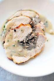 sausage stuffed turkey breast recipe something non