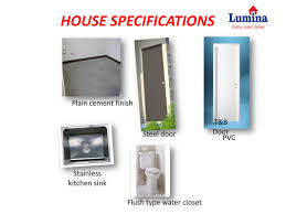 house specs lumina homes bacolod your home in bacolod