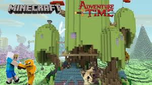 Time Map Minecraft Adventure Time Map Exploring Finn And Jake U0027s Treehouse