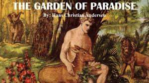 learn english through story the garden of paradise by hans