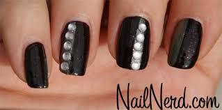 nail nerd nail art for nerds darkly blinged nails