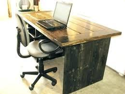 Computer Desk Diy Diy Rustic Desk Computer With Drawers Interque Co