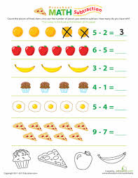 food math subtraction fun worksheets math and fun