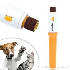 Pet Accessory Electric Pet Dog Cat Puppy Claw Toe Nail Pedicure
