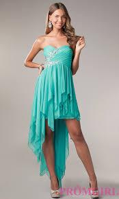 peacock colored hi low prom dresses prom dresses dressesss