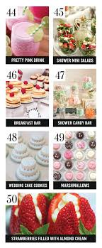 easy bridal shower 100 bridal shower ideas from bridal showers food ideas and