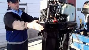 6m2a95 used 2003 mercury 60elpto bigfoot 2 stroke outboard motor