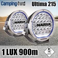 led driving lights for trucks narva pair 9inch led driving lights 165w off road spotlights 71740