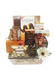 gourmet chocolate gift baskets choco lover s chocolate gift basket by pompei baskets