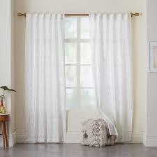 Curtains Printed Designs Moorish Tile Printed Curtain West Elm