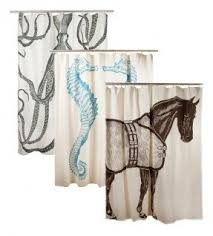 Seahorse Shower Curtain Octopus Shower Curtain Foter