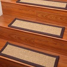 interior modern stair treads carpet on concrete stair case also