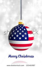 merry usa flag stock illustration 153461987