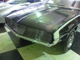 camaro custom grill 1969 camaro grille billet aluminum polished with black