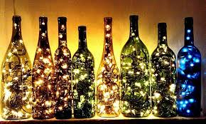 wine bottle string lights beyond the holidays radiant string light ideas that sparkle all