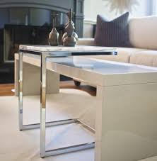 side table for recliner chair modern recliner chair in family room modern with chrome coffee table