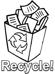 recycling coloring pages pictures 5441