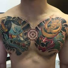 hannya on chest by michael beddome
