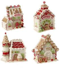 gingerbread castle by raz imports the patch