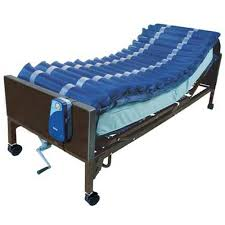air bed mattress overlay alternating pressure low air loss system