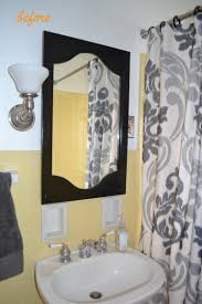Gray And Yellow Bathroom by 110 Bath Makeover Ever After Blueprint