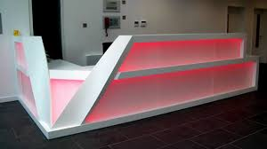 Illuminated Reception Desk Led Backlit Reception Desk