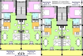 8 Unit Apartment Building Floor Plans 2 Bedroom Apartment Building Floor Plans With Type Building Plan