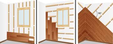 chambre en lambris bois installer une ossature en bois lambris