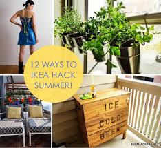 Ikea Hackers by 12 Ways To Ikea Hack Summer Ikea Hackers Ikea Hackers