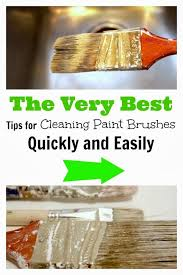 what should i use to clean my painted kitchen cabinets the best tips for cleaning paint brushes quickly and
