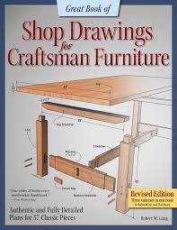 great book of shop drawings for craftsman furniture book review