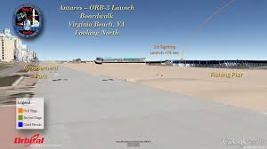 Virginia Map Viewing Gallery by How To Watch Spectacular 1st Nighttime Antares Launch To Iss On