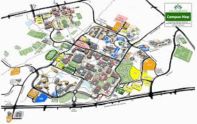 Msu Interactive Map Unc Charlotte Campus Map Traffic Google Maps Bear Mountain Map