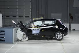 nissan leaf insurance group chevy volt nissan leaf get top iihs crash safety ratings