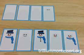 montessori and preschool printables for winter trillium montessori