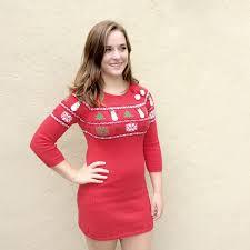 fair isle sweater dress fair isle snowmen tacky sweater dress the