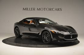 maserati convertible 2015 2017 maserati granturismo cab mc stock m1652 for sale near