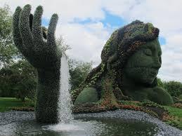 Botanic Garden Montreal Exploring Plant Sculptures At The Montreal Botanical Garden Eat