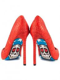 Skull High Heels Heels Platform Shoes Stilettos Inked Shop