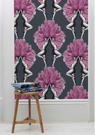 melissa wallpaper in pink graduate collection showgirls wallpaper pink wallpaper