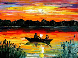 landscape painting artists photos acrylic landscape paintings drawings gallery