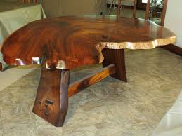 solid wood trestle dining table furniture awesome custom koa furniture with oak staining wood