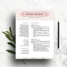sale resume template creative modern by templatedesignshop