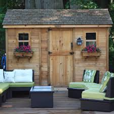 some types of backyard storage solutions