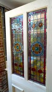 beautiful glass doors a beautiful victorian style 2 panel stained glass front door