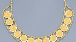 coin necklace gold images Best gold coin necklace photos 2017 blue maize jpg