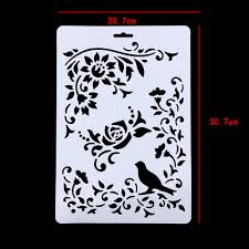 paint stencils for walls online buy wholesale wall painting stencils from china wall