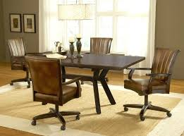 Rolling Dining Room Chairs Tapizadosraga Com
